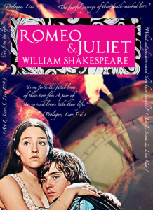 Learner-Created Marketing Piece for Romeo and Juliet